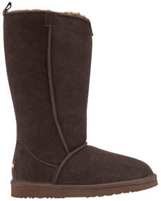 Lamo Footwear Women's Chocolate Bellona Tall Boots - Round Toe, Chocolate, hi-res