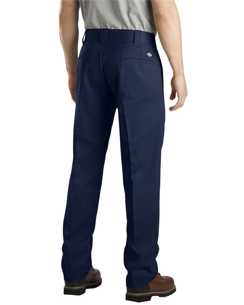 Dickies Slim Straight Work Pants, Navy, hi-res