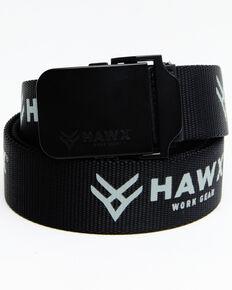 Hawx Men's Web Belt, Black, hi-res