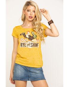 Idyllwind Women's Rye & Shine Trustie Tee, Dark Yellow, hi-res