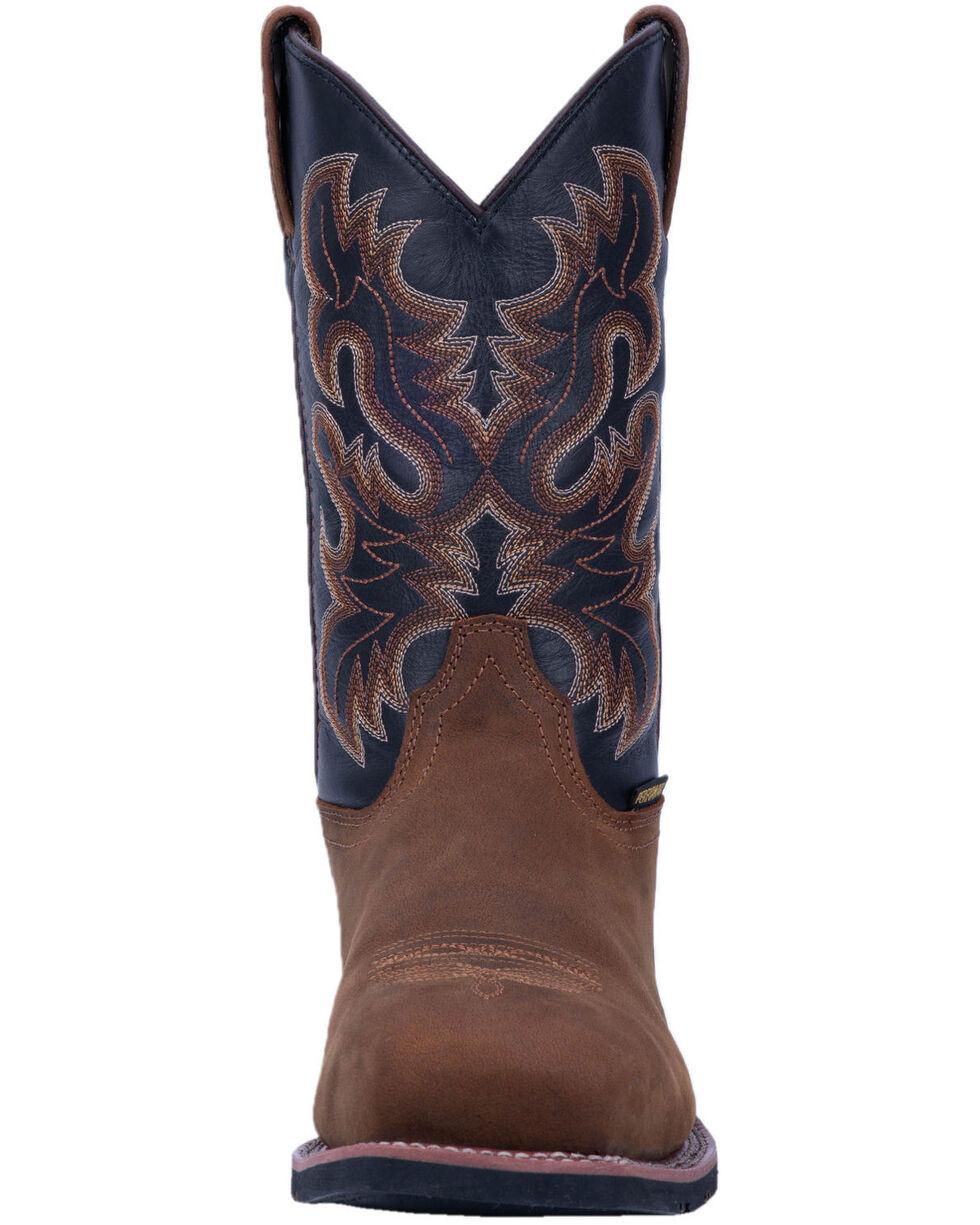Laredo Men's Rockwell Western Work Boots - Steel Toe, Brown, hi-res