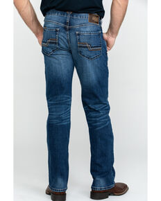 Ariat Men's M5 Nebraska Stackable Stretch Slim Straight Jeans , Blue, hi-res