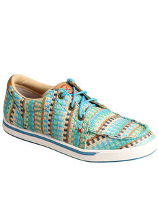 HOOey by Twisted X Women's Loper Shoes, Blue, hi-res