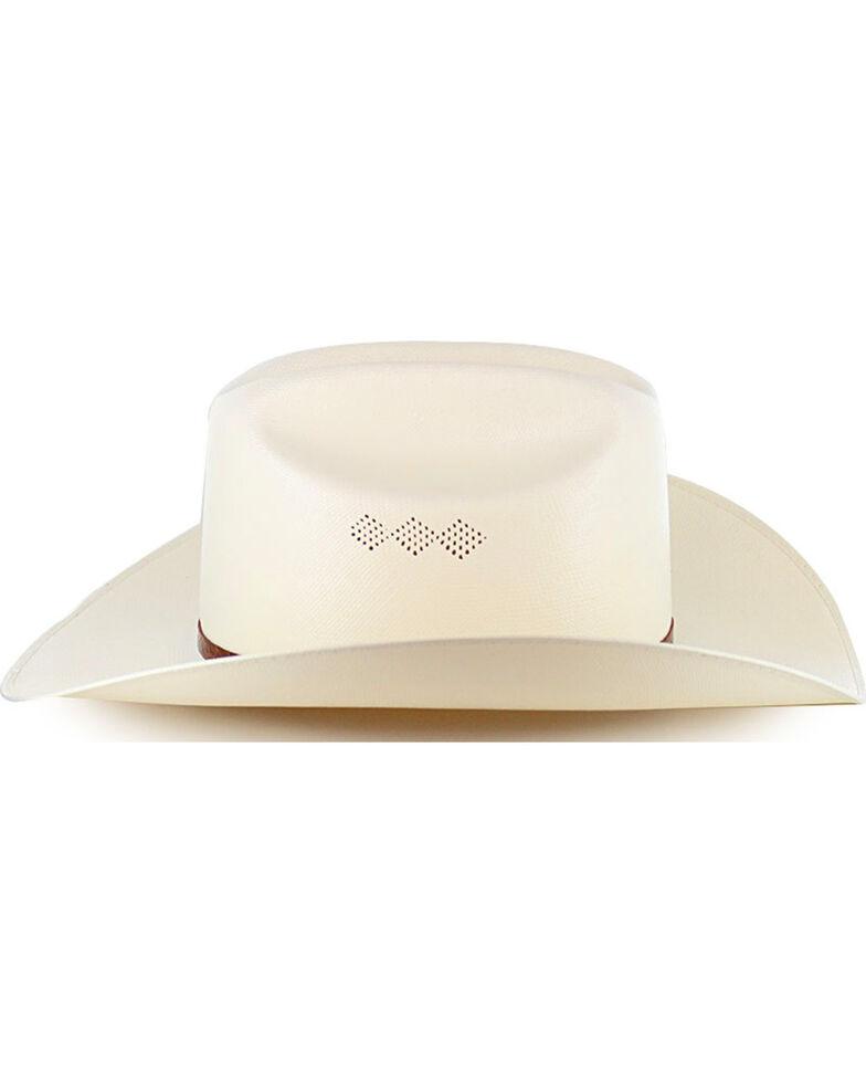 Larry Mahan Men's 15X El Primero Straw Cowboy Hat, Natural, hi-res