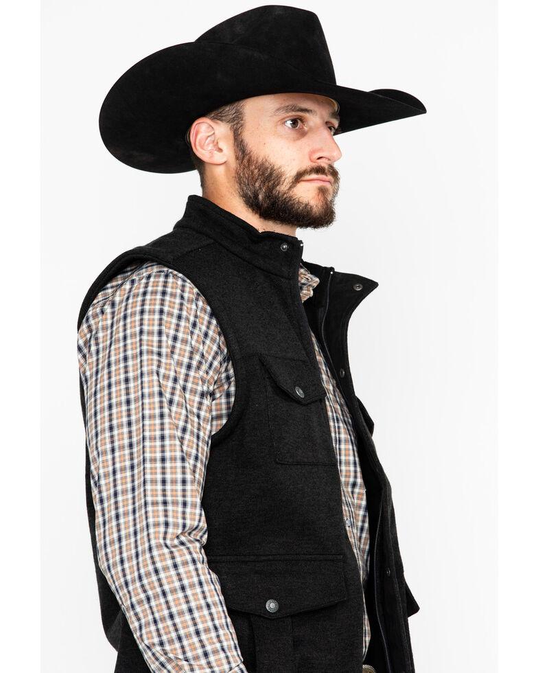 Outback Trading Co. Men's Reid Softshell Vest , Black, hi-res