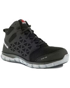 Reebok Men's Sublite Static Dissipative Work Shoes - Alloy Toe, Black, hi-res