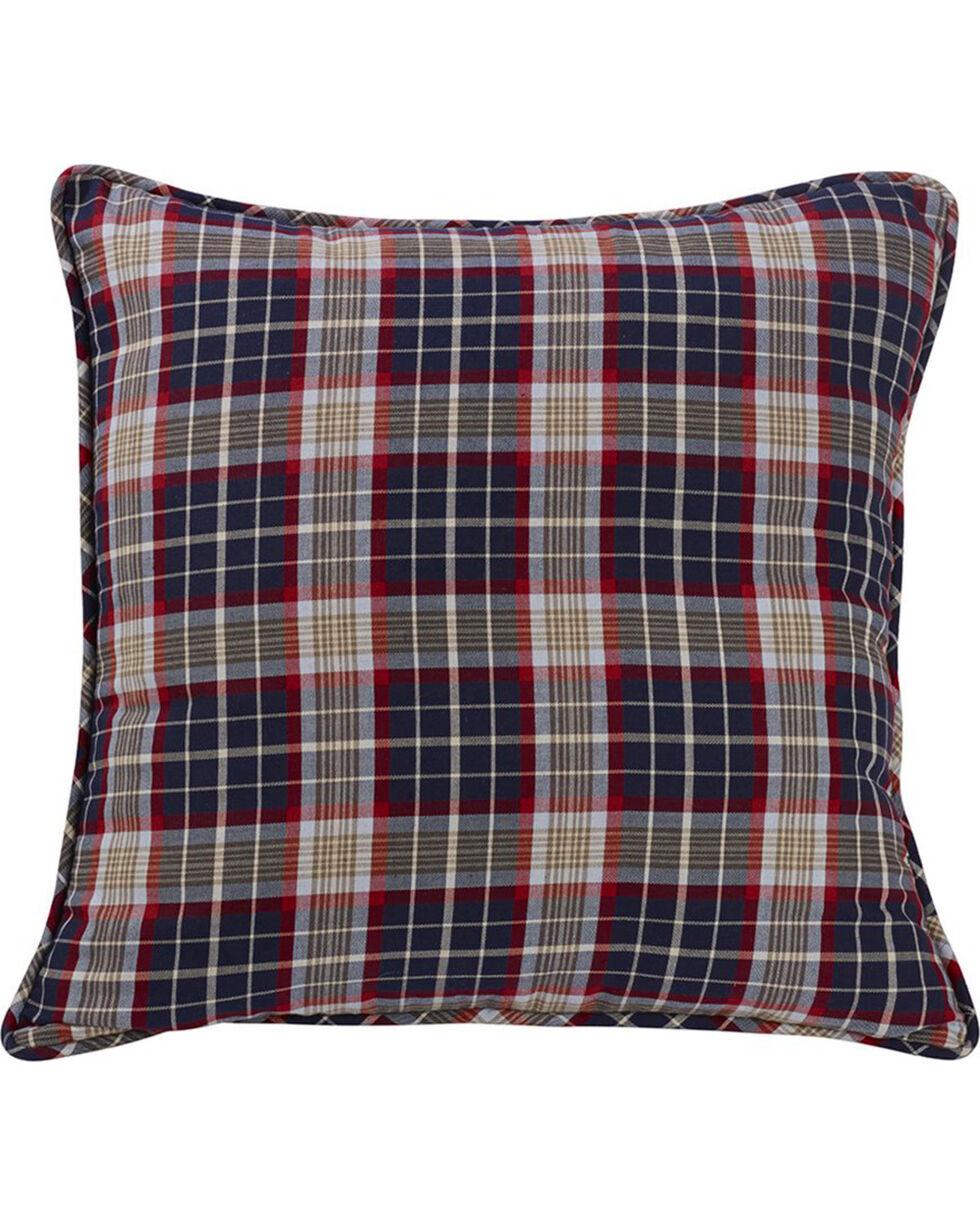 HiEnd Accents South Haven Blue Plaid Euro Accent Pillow, Multi, hi-res