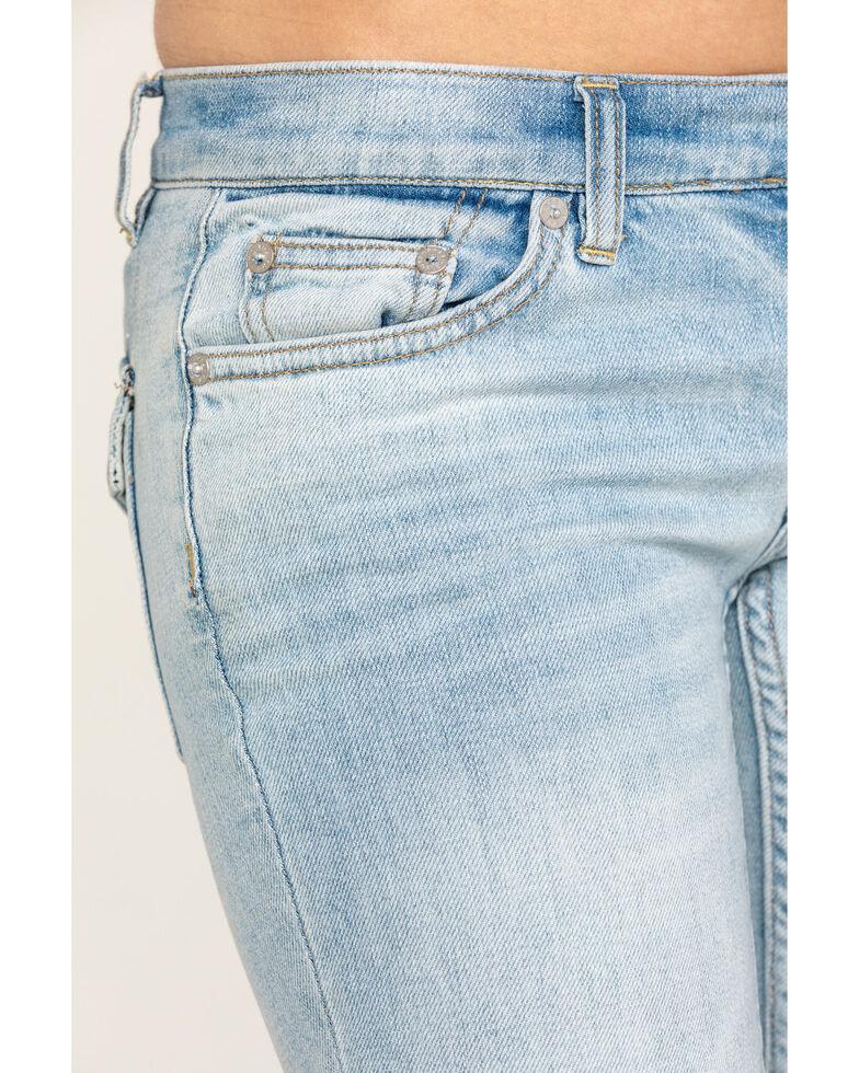 Free People Women's Jean Austen Straight Blue Jeans, Blue, hi-res