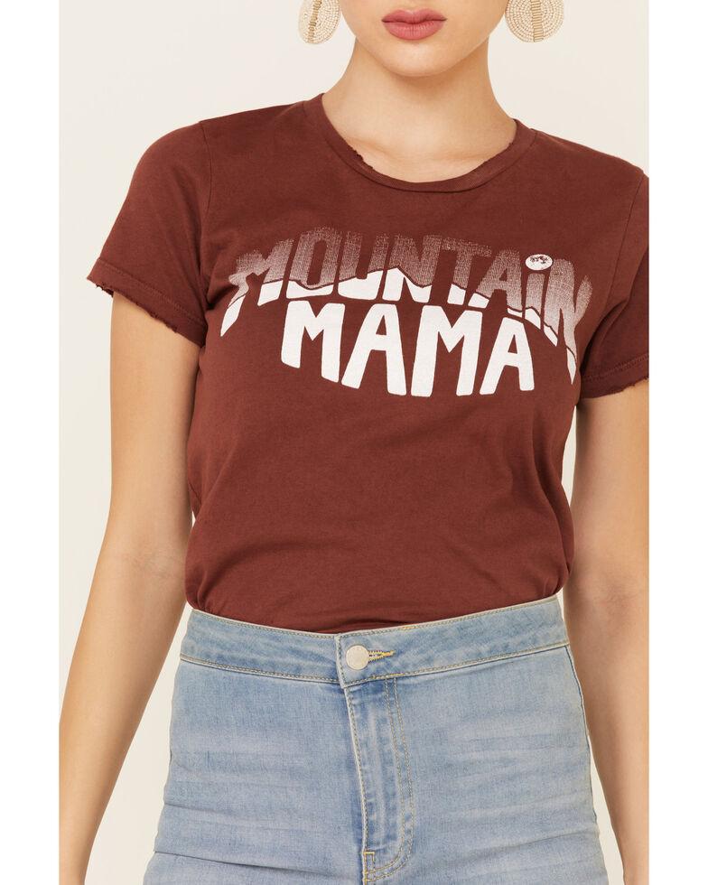 Bandit Women's Rust Mountain Mama Graphic Tee , Rust Copper, hi-res