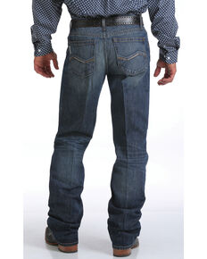 Cinch Men's Grant Mid Rise Relaxed Fit Jeans - Bootcut, Indigo, hi-res
