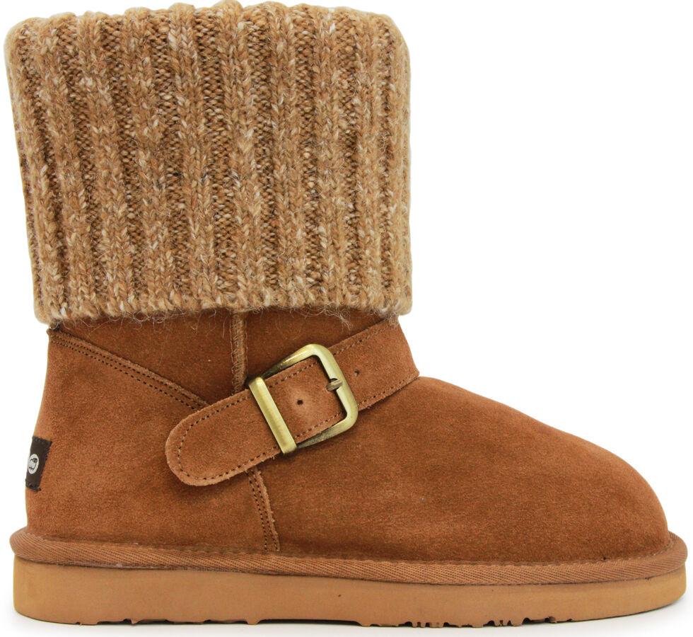 Lamo Footwear Women's Hurricane Boots - Round Toe, Chestnut, hi-res