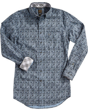 Noble Outfitters Men's Generations Fit Long Sleeve Shirt, Navy, hi-res
