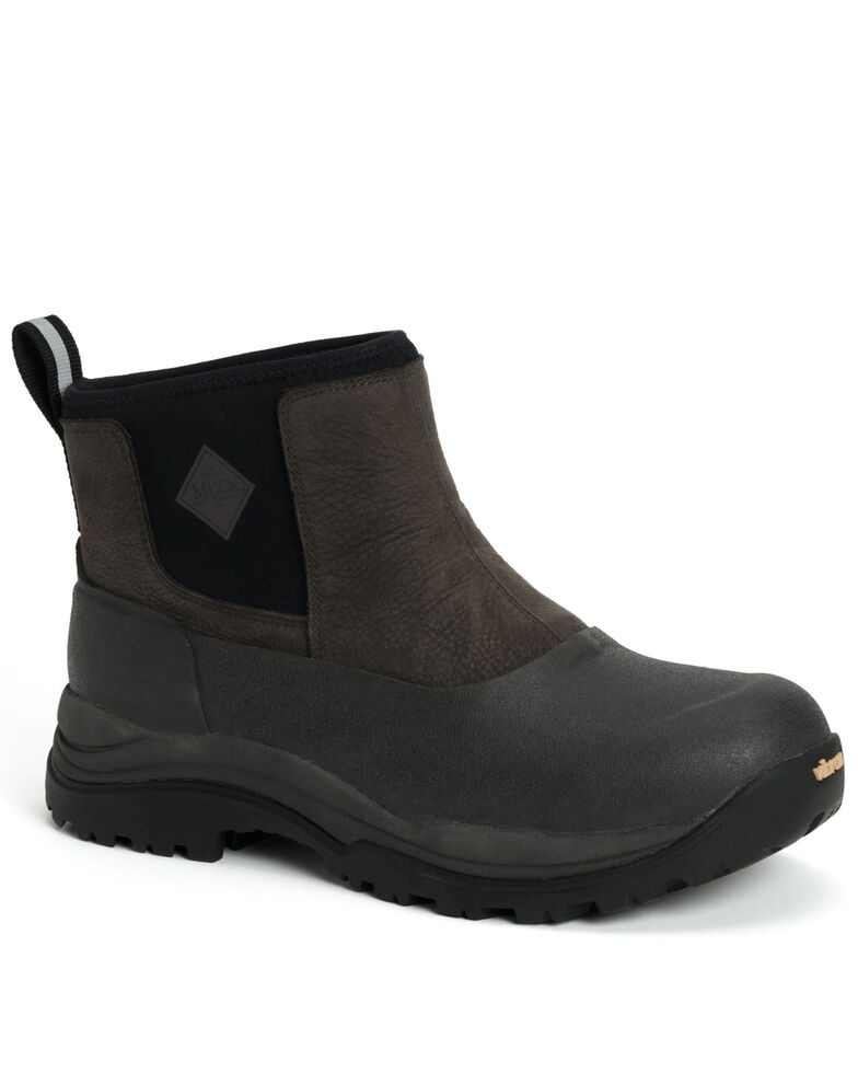 Muck Boots Men's Arctic Outpost Rubber Boots - Round Toe, Brown, hi-res