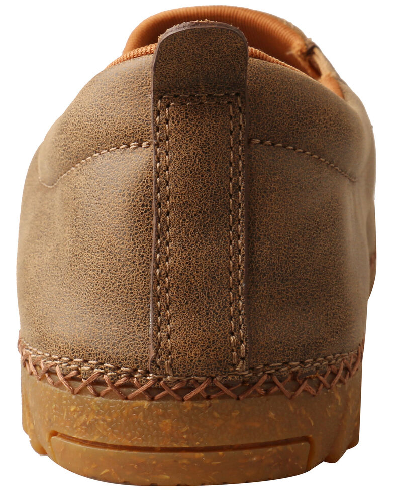 Twisted X Men's Slip-On Zero-X Casual Shoes - Moc Toe, Brown, hi-res