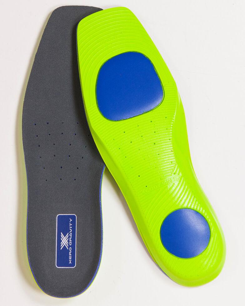 Cody James Men's Wide Square Toe Xero Gravity Comfort Insoles, No Color, hi-res