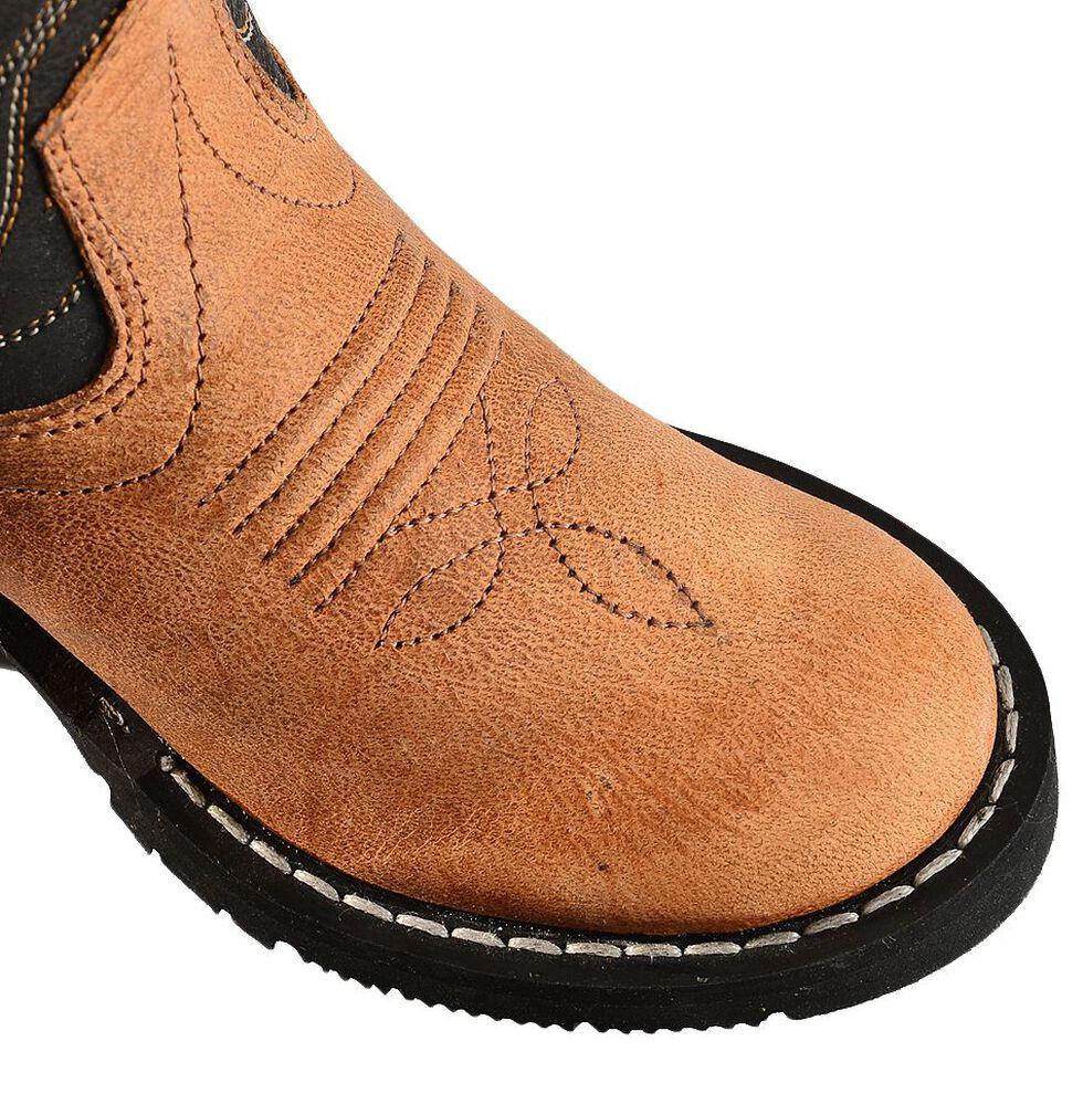 Old West Toddler Boys' Black Cowboy Boots - Round Toe, , hi-res