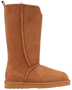 Lamo Footwear Women's Chestnut Bellona Tall Boots - Round Toe, Chestnut, hi-res