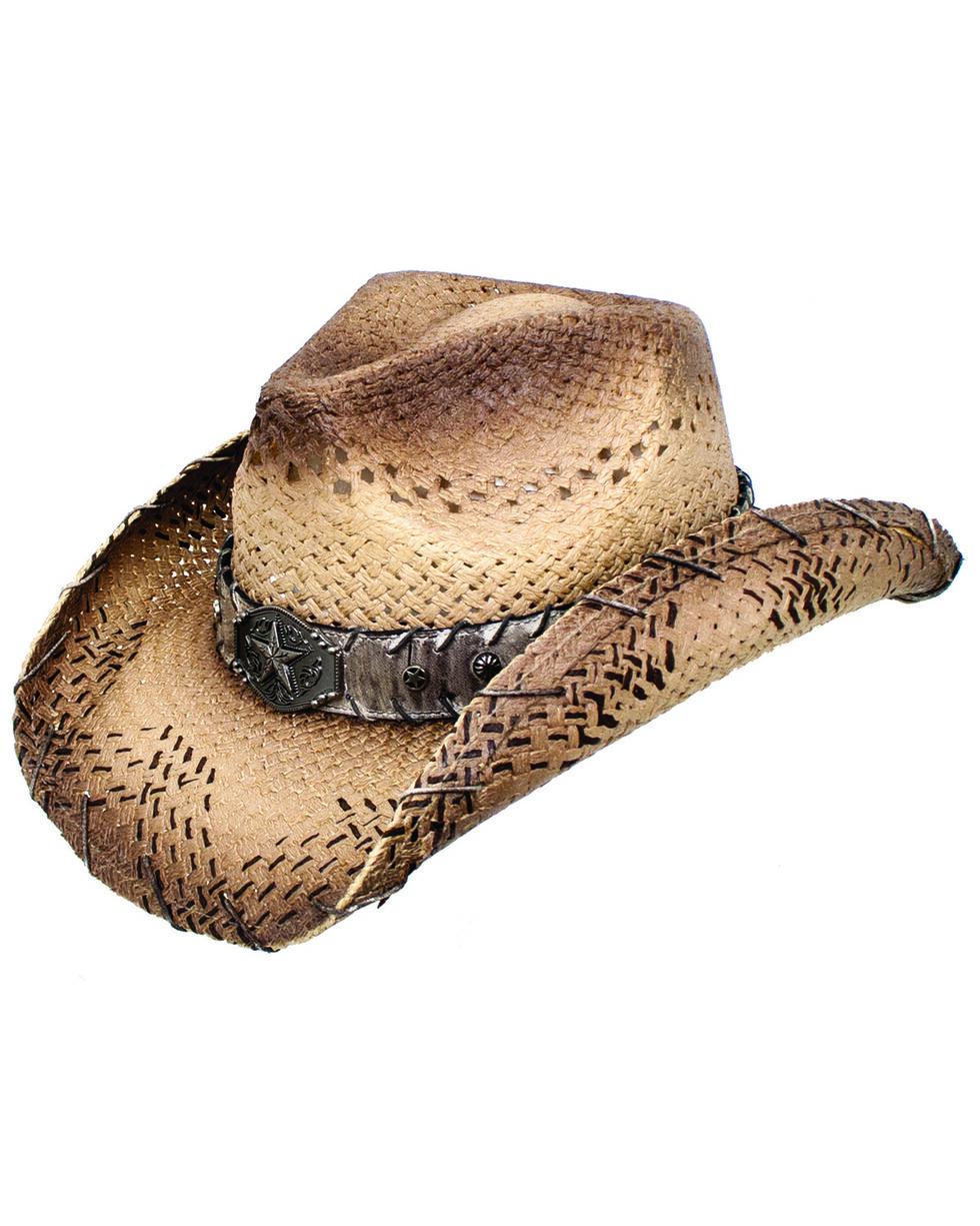 Peter Grimm Unisex Carter Western Hat, Beige/khaki, hi-res