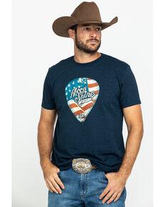 Moonshine Spirit Men's Navy Pick Graphic T-Shirt , Navy, hi-res