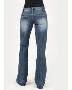 Stetson Women's Dark 214 City Trouser Fit Jeans, Blue, hi-res