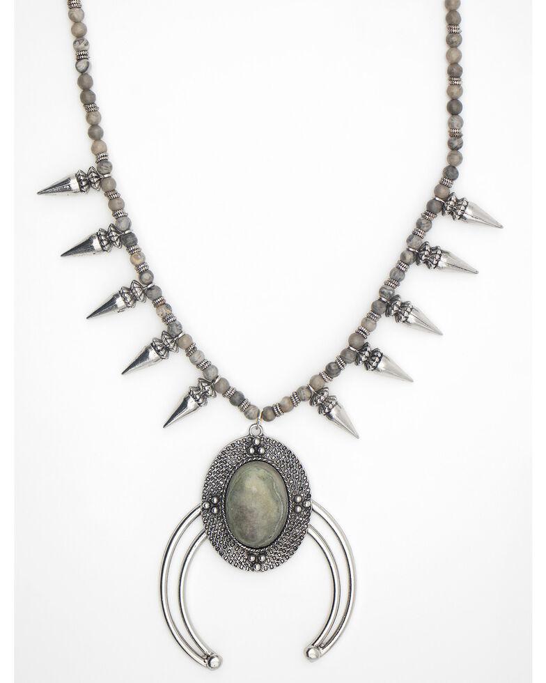 Cowgirl Confetti Women's Brilliant Splendor Necklace, Grey, hi-res