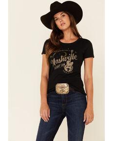 Flag & Anthem Women's Desert Son Return To Nashville Graphic Short Sleeve Tee , Black, hi-res