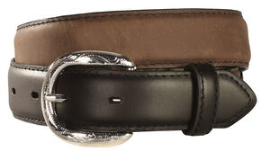 Nocona Kids' Lace & Concho Leather Belt - 18-28, Brown, hi-res