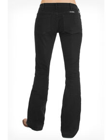 Cowgirl Tuff Women's Just Tuff Black Trouser, Blue, hi-res
