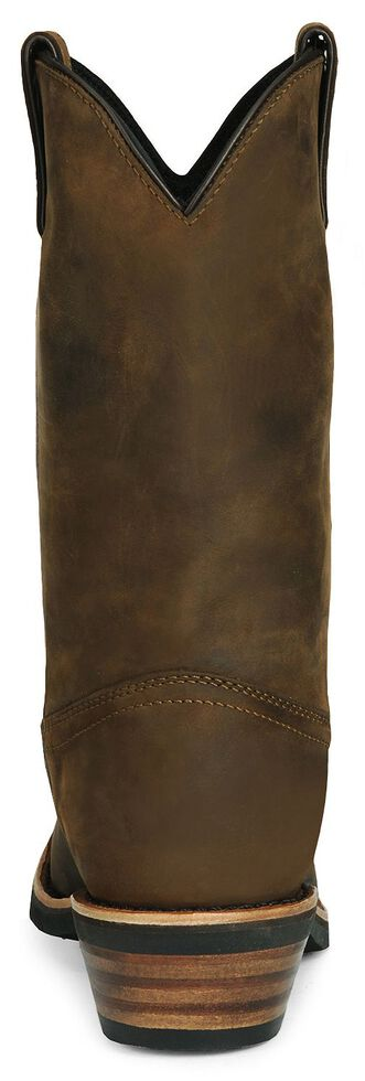 Dan Post Men's Albuquerque Distressed Leather Western Work Boots - Soft Toe, Distressed, hi-res