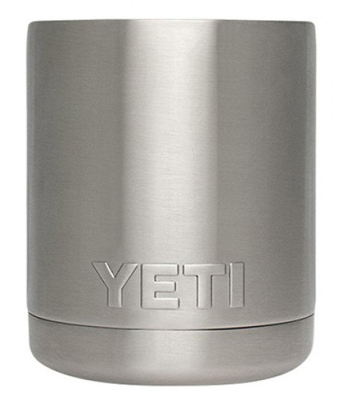 YETI Rambler 10-ounce Lowball Tumbler, Silver, hi-res