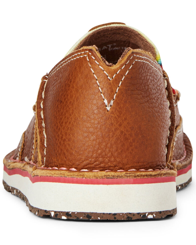 Ariat Women's Serape ECO Cruiser Shoes - Moc Toe, Brown, hi-res