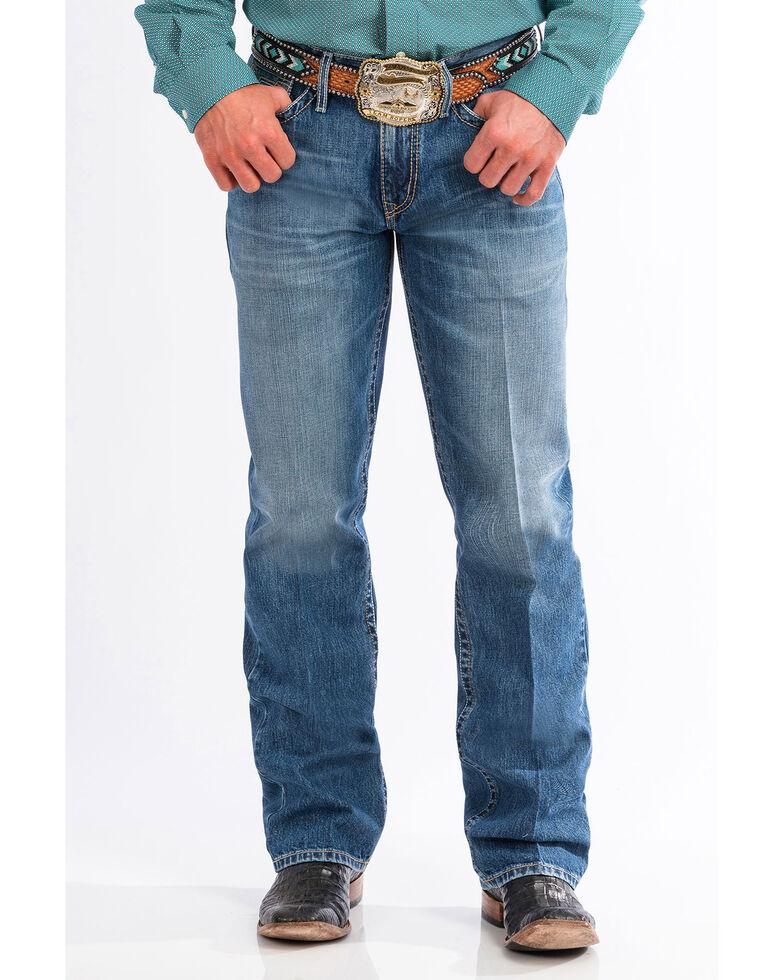 Cinch Men's Grant Relaxed Fit Boot Cut Jeans, Indigo, hi-res