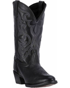 Laredo Women's Maddie Cowgirl Boots - Medium Toe, Black, hi-res