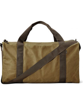 Filson Medium Tin Cloth Field Duffle Bag, Tan, hi-res