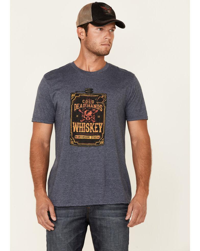 Moonshine Spirit Men's Dead Hands Graphic Short Sleeve T-Shirt , Navy, hi-res