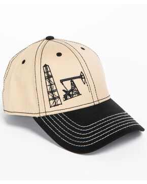 Cowboy Hardware Men's Rig & Well Cap, Lt Brown, hi-res