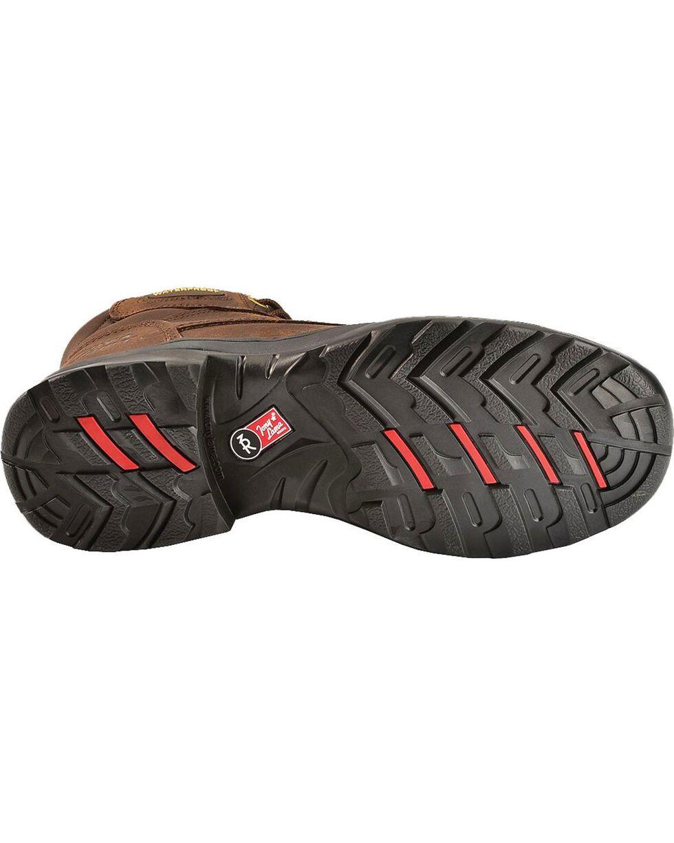 Tony Lama 3R Waterproof Lace-Up Casual Boots - Round Toe, Briar, hi-res