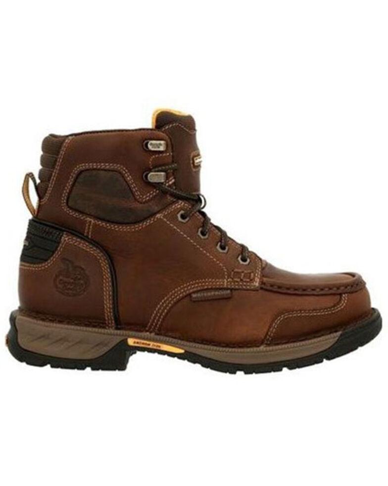 Georgia Boot Men's Athens 360 Chelsea Work Boots - Soft Toe, Brown, hi-res