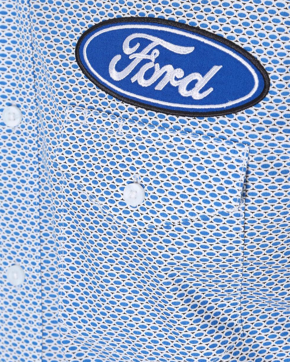 Wrangler Men's Blue Ford Logo Shirt , Green, hi-res