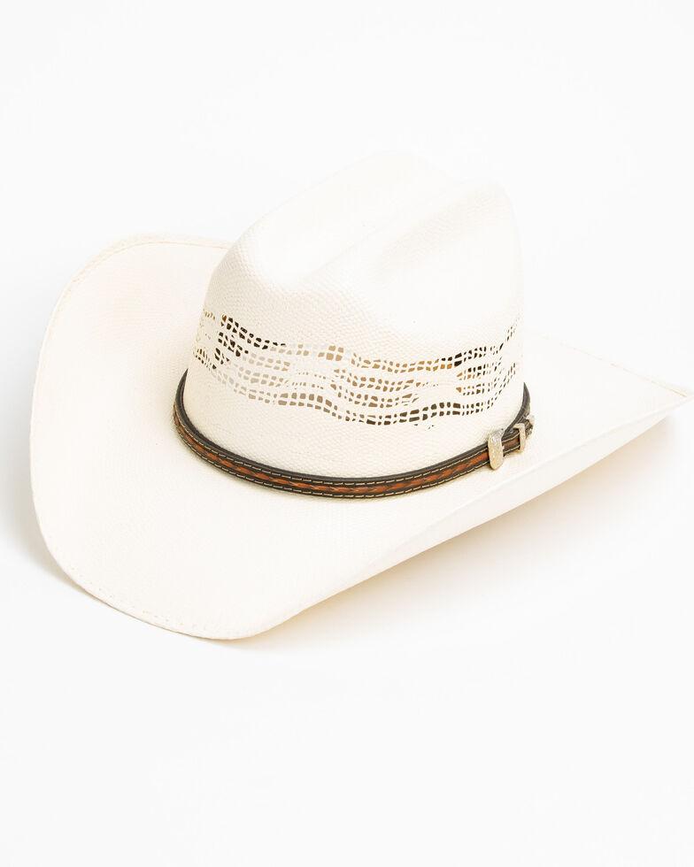 Cody James Men's 20X Low Cattleman Pro Rodeo Bangora Straw Hat, Natural, hi-res