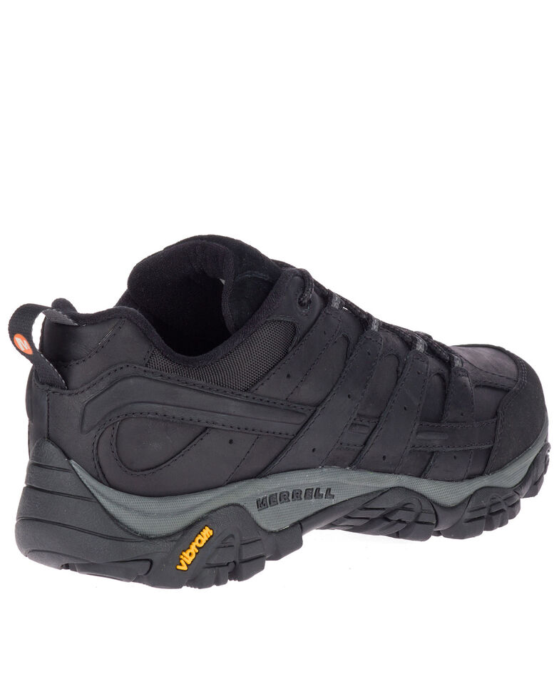 Merrell Men's Black MOAB 2 Prime Hiking Boots - Soft Toe, Black, hi-res