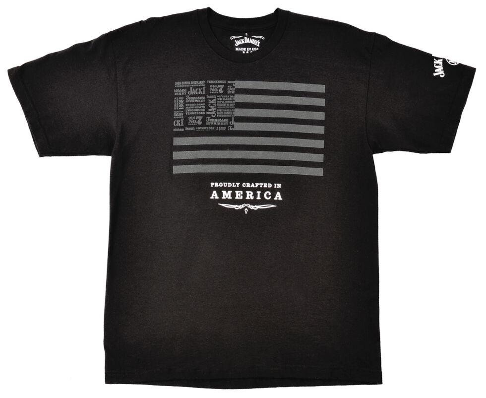 Jack Daniel's Men's Jack and Stripes Black T-Shirt, Black, hi-res
