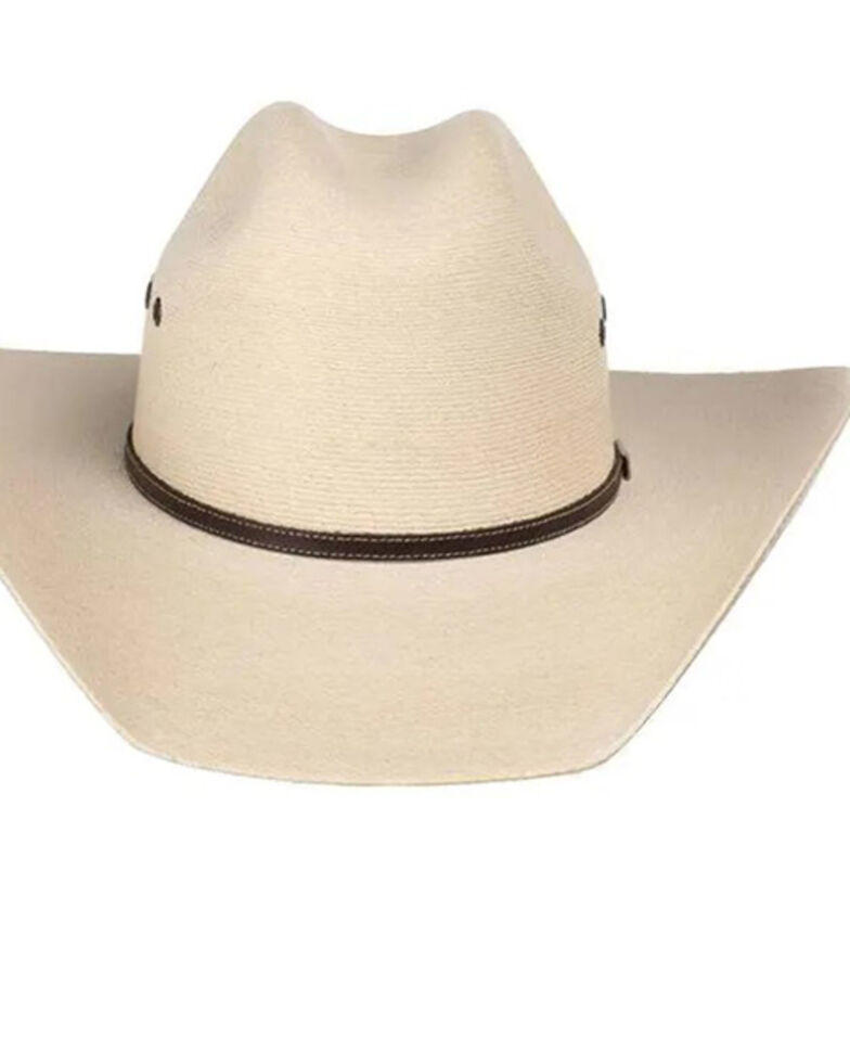 Atwood Hat Co. 7X Natural Tumbleweed Western Palm Straw Hat , Natural, hi-res