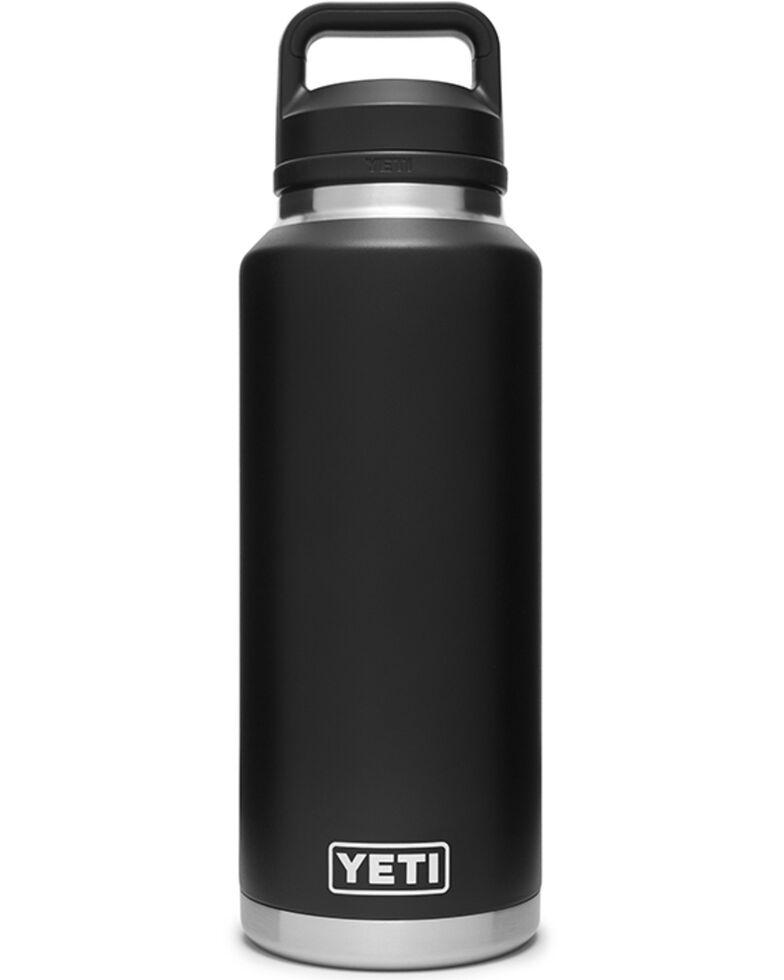 Yeti Rambler 46oz Chug Cap Bottle, Black, hi-res