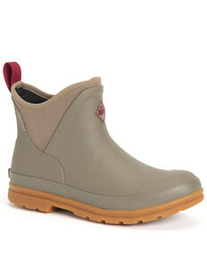 Muck Boots Women's Muck Originals Rubber Boots - Round Toe, Taupe, hi-res