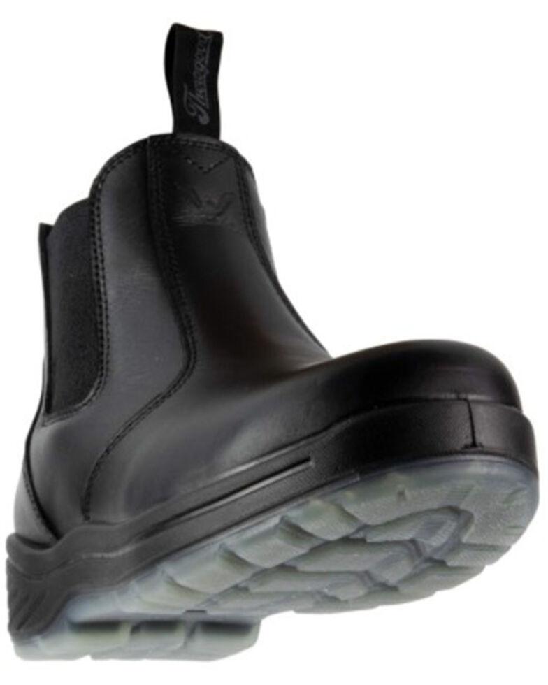 Thorogood Men's Quick Release Work Boots - Composite Toe, Black, hi-res