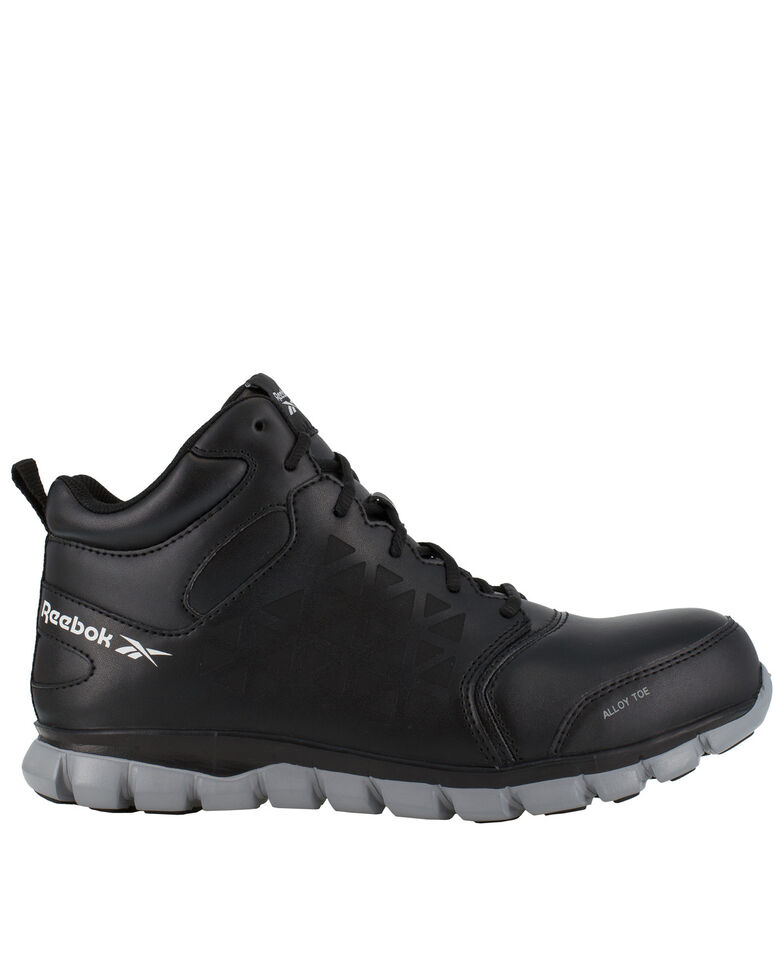 Reebok Women's Sublite Work Shoes - Alloy Toe, Black, hi-res