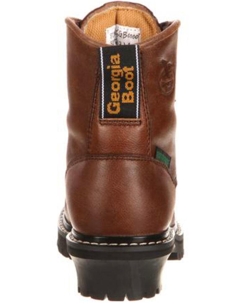 ba3c281d122 Georgia Boot Little Kids Waterproof Logger Boots - Round Toe