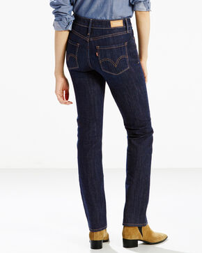 Levi's Women's 525 Blue Springs Perfect Waist Straight Leg Jeans  , Indigo, hi-res