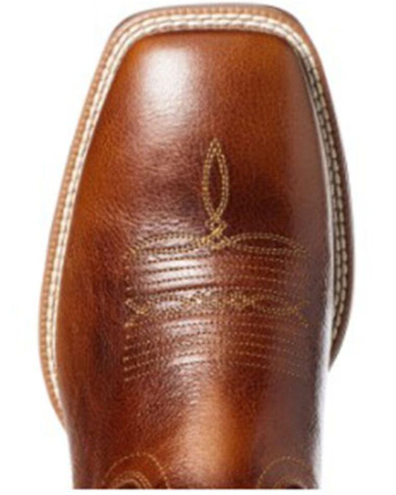 Ariat Men's Venttek Ultra Western Boots - Square Toe, Brown, hi-res